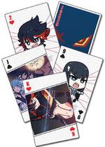 Kill la Kill  Spielkarten (52 Blatt)