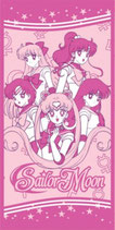 Sailor Moon Badetuch / Strandtuch / Handtuch pink