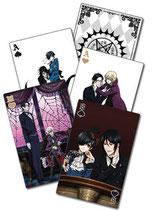 Black Butler 2 Spielkarten (52 Blatt)