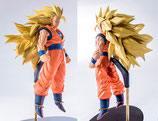 Dragon Ball Super : Super Saiyan 3 Son Goku Figur (18 cm) Banpresto Scultures