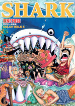 One Piece Color Walk 5 Shark * Artbook