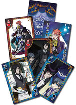 Black Butler Book of Circus Spielkarten (52 Blatt)