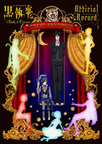 Black Butler Book of Circus - TV Animation Guide Artbook