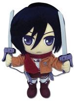 Attack on Titan Mikasa Plüschi Plüsch-Figur (stehend)