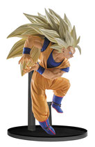 Dragon Ball Super : Super Saiyan 3 Son Goku Figur (19 cm) Banpresto Scultures