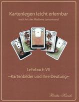 Lenormand Lehrbuch VII   1. Ausgabe