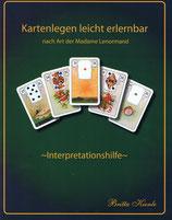 Lenormand-Zusatzbuch zum Kartenlegen!