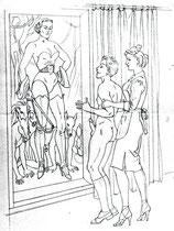 Montorgueil: 2. Le chevalet de Madame de Brandes
