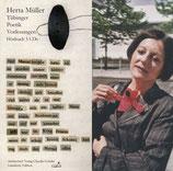 Müller, Herta: Tübinger Poetik Vorlesung. 3 CDs
