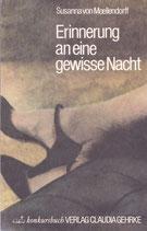 Moellendorff, Susanna von: Erinnerung an eine gewisse Nacht