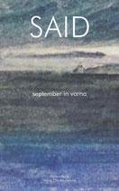 SAID: september in varna