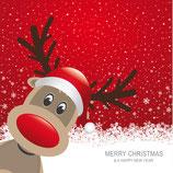 Hübsch gestalteter Gutschein Weihnachten ( personalisierbar )
