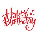 Hübsch gestalteter Gutschein Geburtstag ( personalisierbar )