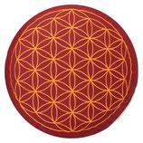 Blume des Lebens buddhistisch rot  Höhe:  15 cm