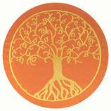 Baum des Lebens orange