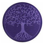 Baum des Lebens violett / violett