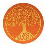 Baum des Lebens orange / gelb