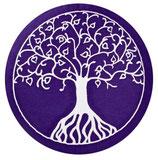 Baum des Lebens violett