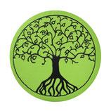 Baum des Lebens apfelgrün / schwarz