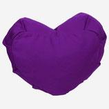 Herzkissen Zafu purple