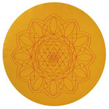 Namasté gelb Höhe: 10 cm