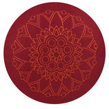 Shanti buddhistisch rot