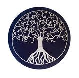 Baum des Lebens blau