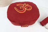 Reisekissen buddhistisch rot OM