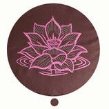 Lotusblüte  schokobraun Höhe: 10 cm