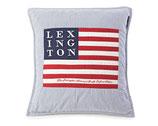 Lexington // Kissenhülle Art & Craft (Blau/Weiß)