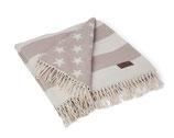 Lexington // Flag Decke (Beige)