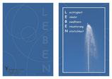 "KlappKarte ""Leben"" - Bestellnummer (ID): KADW0104"