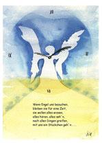 """KlappKarte """"Wenn Engel uns besuchen"""" - Bestellnummer (ID): ET050001"""