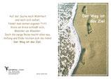 """KlappKarte """"Der Weg ist das Ziel"""" - Bestellnummer (ID): KADW0105"""