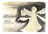"""KlappKarte """"Ein weißer und ein schwarzer Engel"""" - Bestellnummer (ID): ET050010"""