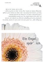 """KlappKarte """"Ein Engel, spür' ich"""" - Bestellnummer (ID): KADW0112"""