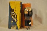仏蘭西DARIO Radio techunique  TB06 未使用元箱入ナス型出力管