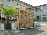Lagerrahmen für Brennholz