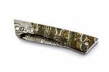 Taschenmesser Exklusiv / Mammutbackenzahn / Damast Beschläge