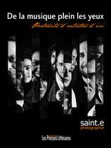 De la musique plein les yeux, portraits d'artistes d'ici - Stéphane Saint-E