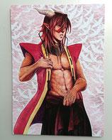 DragonBlood: Ras Aldebaran shirtless