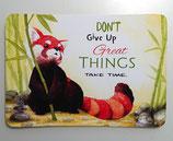 Speech Cards: Red Panda