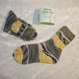 Socken 28/29 Ferner gelb-grün