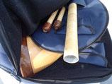 Lion Bag für 3-Teiliges Alphorn, blau, Länge 144 cm