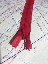 Nahtreissverschluss Rot