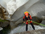 Sportlicher Canyoning-Tour