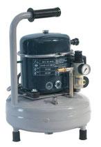 Compressore d'Aria Silenzioso Portatile 50L/min con Serbatoio Verticale 9 Lt., Pressione Max 8 bar.