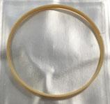 Longines Guarnizione Vetro L379109976 -  31.25mm x 30.53mm x 1.45mm Gialla