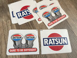 Sticker:      Ratsun            Dare to be different