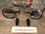 Original Datsun Außenspiegel ( Fender Mirror) zur Befestigung auf den Kotflügeln